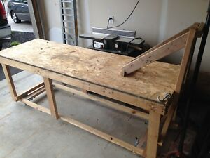 Motorcycle/Dirt Bike work Table
