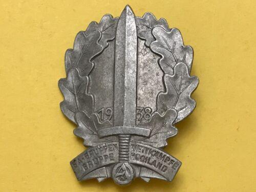 WWII German 1938 SA Badge- VERY RARE!!!
