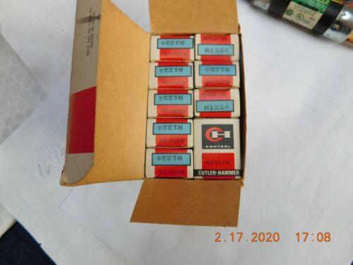 Cutler Hammer H1224 Overload Heater Coil lot of 10 New in box