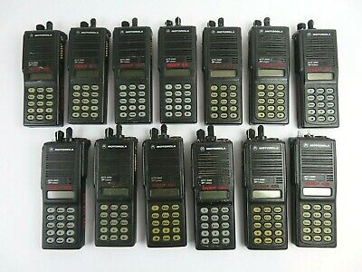 Motorola Mts2000 Flashport H01uch6pw1bn 16channel 2way 800mhz Radio Lot Of 13