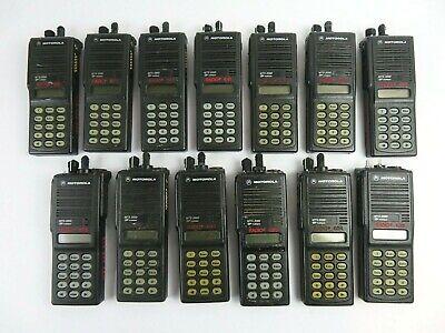 Motorola Mts2000 Flashport H01uch6pw1bn 16channel 2way 800mhz Radio Lot Of 13