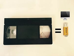 Convert VHS tapes to USB Mount Annan Camden Area Preview
