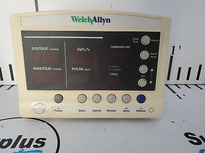 Welch Allyn 52000 Series Vital Signs Monitor No Power Cable