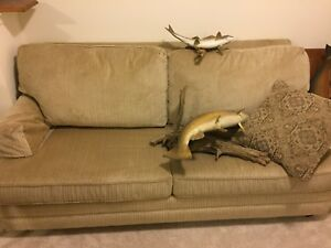 MOVING SALE DOUBLE PULL OUT COUCH
