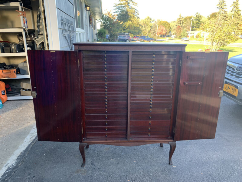 Tindale Sheet Music Cabinet. Cupboard   44 Drawers 3464