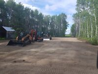 Landscaping, Excavating, Trenching, Dirt Moving, Site Grading