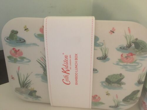 Cath Kidston Bathing Frogs🐸Lunch box