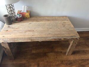 Handmade Farmhouse Style Coffee Table