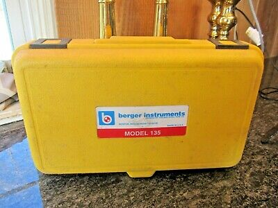 Cst Berger Instruments Transit Level Model 135 With Hard Case Tool