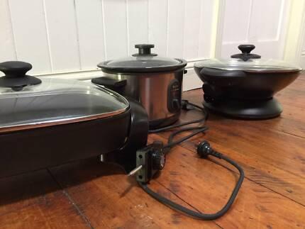 Banquet Frypan, Gourmet Wok, Meal Maker 3