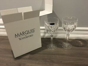 Brand new in box MARQUIS by Waterford crystal glasses