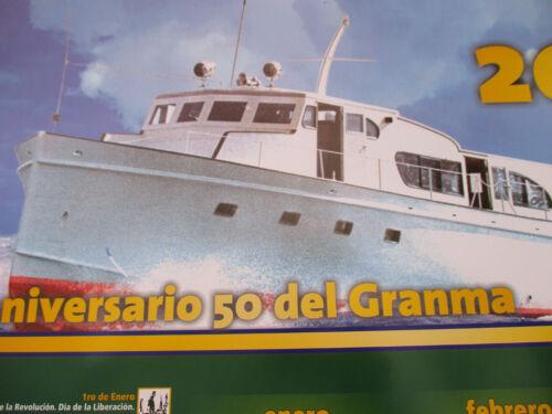 Cuban Revolution Granma Ship Fidel Castro Che Guevara Viva 2006