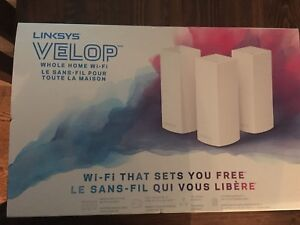 LINKSYS VELOP Whole Home Wi-Fi 3-pack