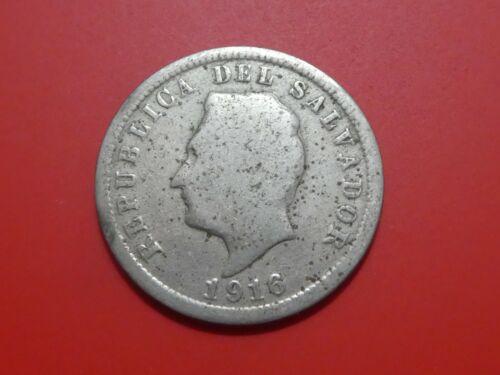 El Salvador 5 Centavos, 1916