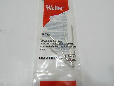 Weller 7253w Soldering Tip Pack Of 2