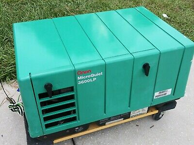 Onan Microquiet 3600 Lp Propane Generator 3.6ky For Rv Motorhome Fifth Wheel