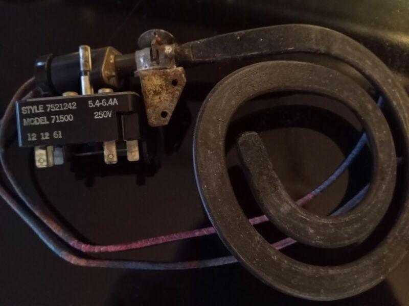 1962 Frigidaire Flair Burner Switch Combo
