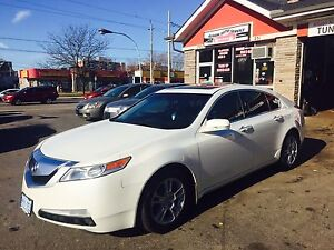 2009 Acura TL with 156 KM