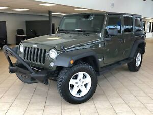 Jeep Wrangler Sport Unlimited A/C Deux Toîts Cruise Control