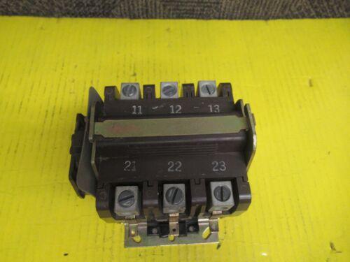 NEW SYLVANIA 3PH CONTACTOR HN53HF115 120V COIL 75A A AMP 600V A77-2885175-75