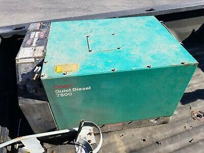 Onan 7500 Quiet Diesel Generator