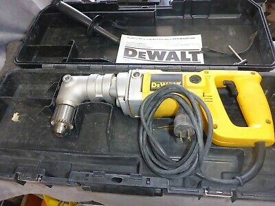 Used Dewalt Dw120 12 Right Angle Drill Wcase