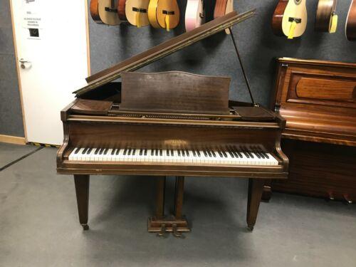 Hopkinson Baby Grand Piano - Mahogany Finish - English Manufacturer - WE CAN DEL