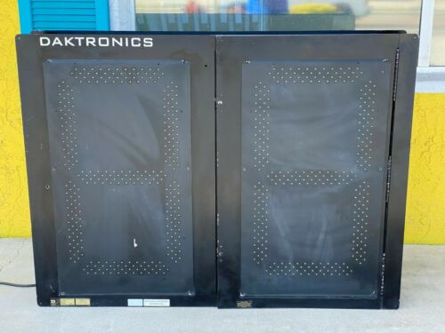 "Daktronics Outdoor Shot Clock Scoreboard 36"" x 48"" with 24"" Digits"