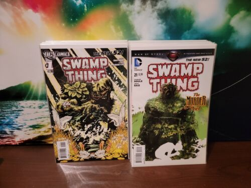 Swamp Thing Vol. 5 (2011) #0-40 + Extras Complete Series DC