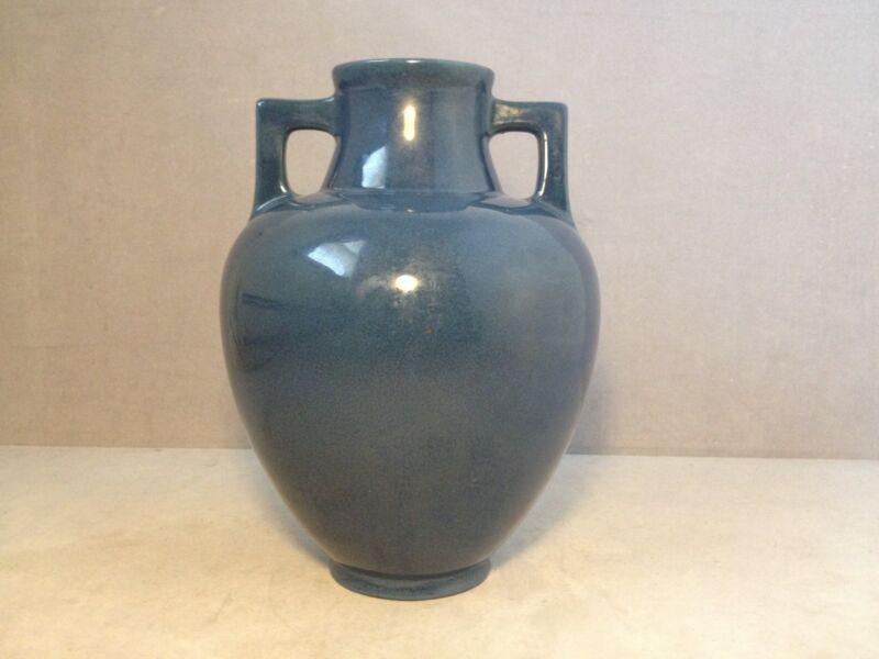Vintage Blue Roseville Rosecraft 180-10 Vase