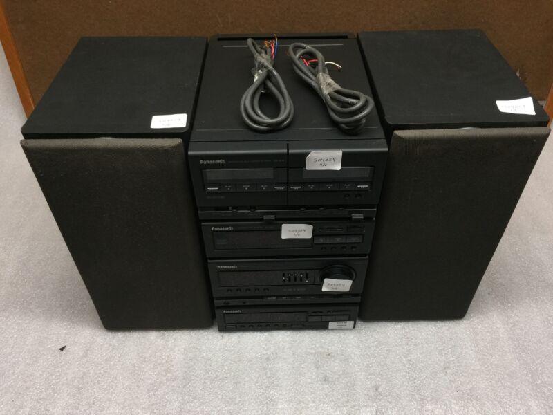Panasonic CH9 Stereo System w/ ST-CH9, SU-CH9, SL-CH9, RS-CH9 & 2x SB-CH9 TESTED
