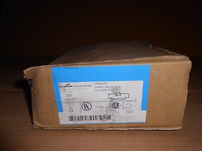 5 Nib Crouse Hinds T29 34 Condulet Conduit Outlet Body