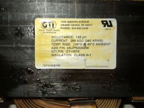 GRAND TRANSFORMERS ABB 3AUP500A054 GTI-H579 TRANSFORMER