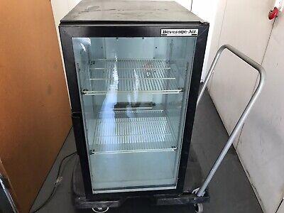 Counter Top Refrigerator Cooler Bar Back Display Beverage Merchandiser