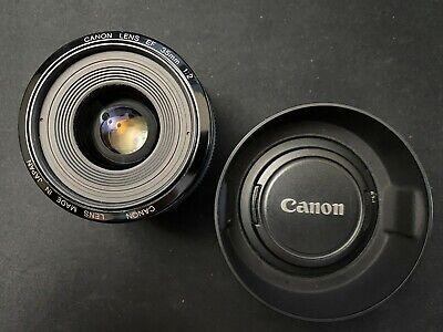Canon EF 35mm f/2 Lens (Mk1) with ES-62 lens hood