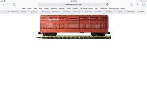 G Scale cattle Car Brand New