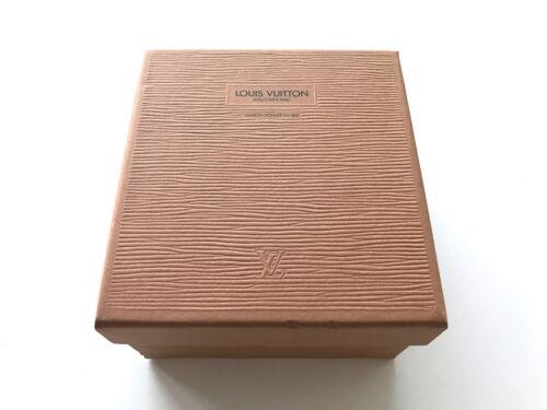 AUTHENTIC LOUIS VUITTON RARE VINTAGE EPI EMPTY GIFT BOX BELT WALLET SCARF