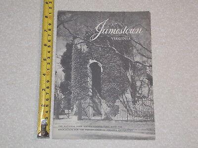 1961 JAMESTOWN VIRGINIA BORCHURE COMPLETE OLD VINTAGE