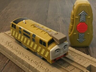 2012 Mattel R/C DIESEL 10 Trackmaster Remote Control Thomas Tank Engine Train