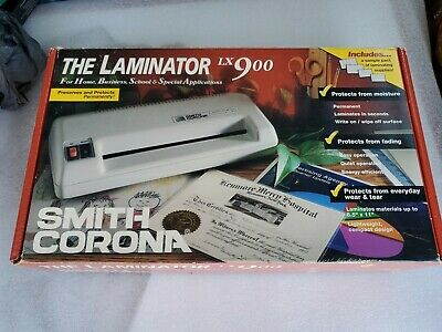 Smith Corona Laminator LX900, missing instructions Not tested