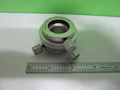 Microscope Part Leitz Eyepiece Objective Centering Device As Is Binc3-h-08
