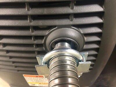 """Honda EU2000i/EU1000i Generator 1"""" steel exhaust extension (8 foot)"""