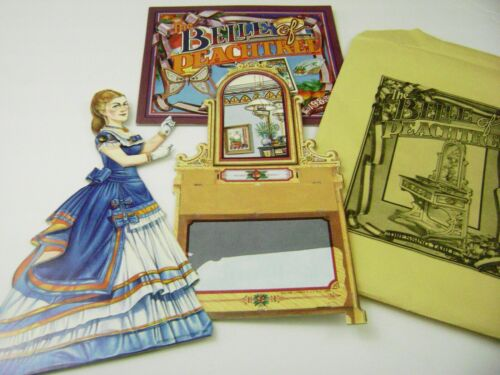 VTG PAPER DOLLS TOY 1985 UFDC CONVENTION PEACHTREE BELLE FURNITURE ULTRA RARE!!!