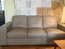 3 seater leather sofa. Good condition. Sandgate Brisbane North East Preview