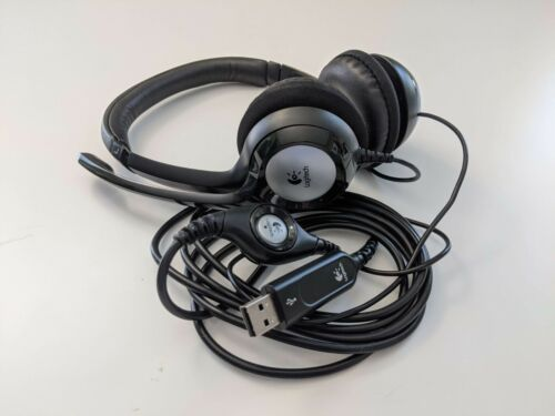 Logitech H390 USB Headset + Noise Cancelling Mic | FREE SHIPPING