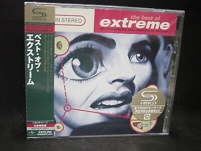 EXTREME The Best Of Extreme: An Accidental Collocation Of Atoms ? JAPAN SHM CD (Extreme The Best Of Extreme An Accidental Collocation Of Atoms)