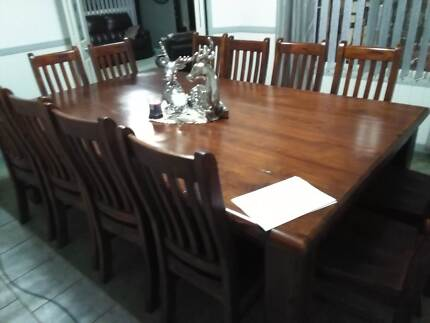 dining table and chairs in tamworth city nsw furniture gumtree