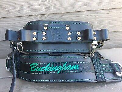 Buckingham 4300m D24 Linepro Lineman Body Belt Pole Climbing Used