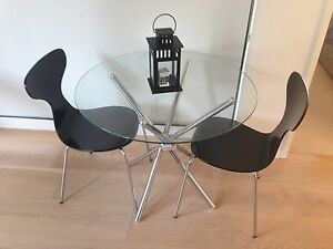 Dining table and chairs Macquarie Park Ryde Area Preview