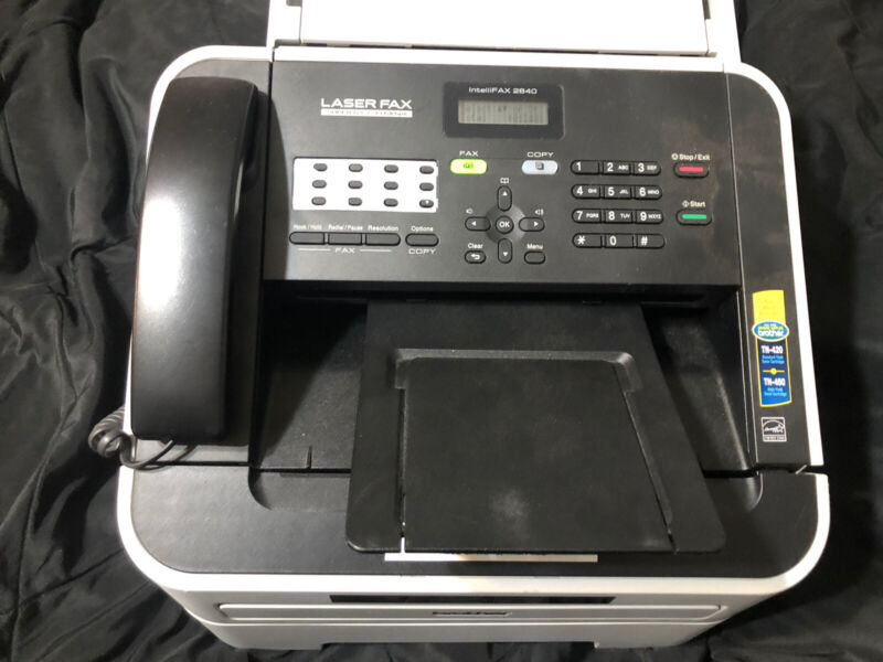 Brother intelliFAX 2840 All-in-One Printer Fax Machine With NEW Toner